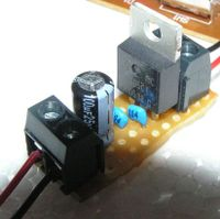 +5V voltage regulator